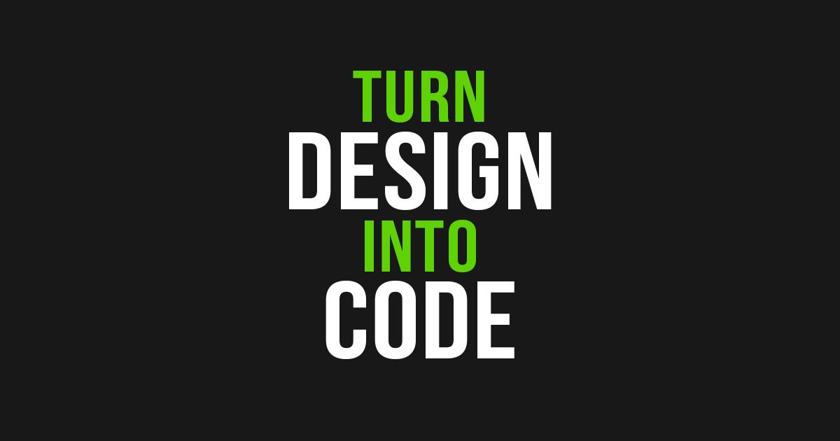 Turn Design into Code | Avocode